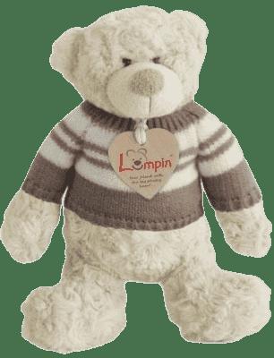 LUMPIN Niedźwiadek Spencer w sweterku, mały
