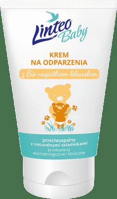 LINTEO BABY Krem na odparzenia z BIO nagietkiem lekarskim, 75 ml