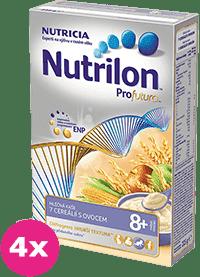 4x NUTRILON ProFutura 7 cereálií (225g) – mléčná kaše