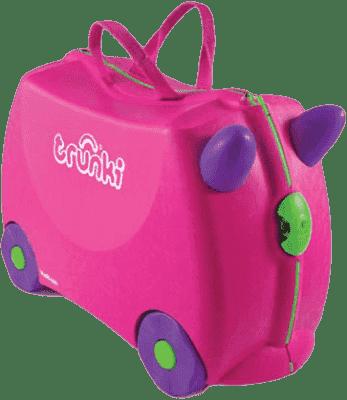 TRUNKI Jeżdząca walizka Trixi (różowa)