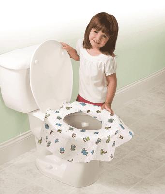 SUMMER INFANT Jednorazový protektor toaletného prkénka