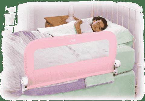 SUMMER INFANT Jednostranná zábrana na postel růžová