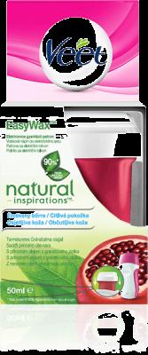 VEET EasyWax Vosk.náplň na nohy do el.setu Natural Inspirations 50ml