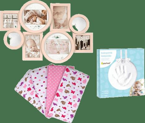 Balíček do pôrodnice pre Dievčatká - stredný