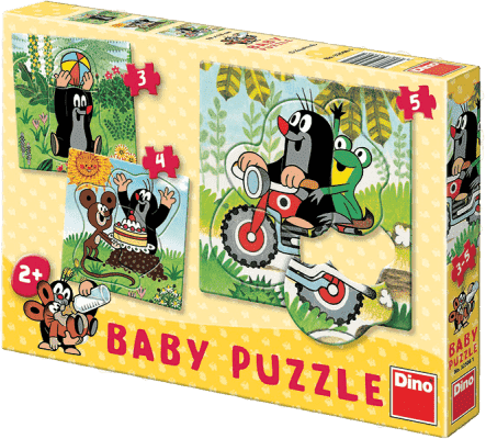DINO Baby Puzzle Krtek na louce