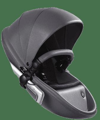 MIMA Xari kočárek 3G - sedák s korbou Cool Grey