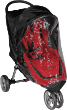BABY JOGGER Pláštenka City Mini / Mini GT - Transparent