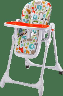PETITE&MARS Jedálenská stolička Zola – oranžová