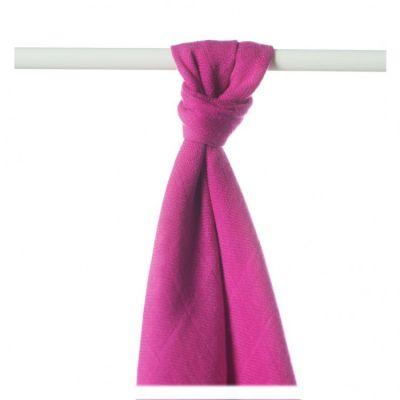 KIKKO Bambusowy ręcznik/pieluszka Colours 90x100 (1 szt.) – magenta