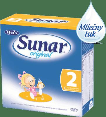 Sunar original 2 (500 g) - dojčenské mlieko