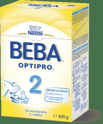 NESTLÉ BEBA 2 OPTIPRO (600 g) - kojenecké mléko