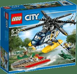 LEGO® City Police Prenasledovanie helikoptérou