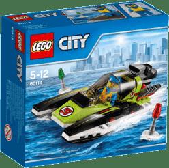LEGO® City Great Vehicles Pretekársky čln