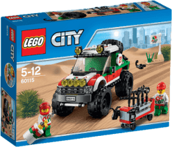LEGO® City Great Vehicles Terénne vozidlo 4 x 4