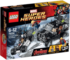 LEGO® Super Heroes Avengersi w pogoni za Hydrą