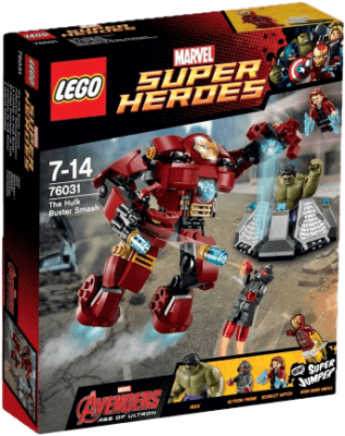 LEGO® Super Heroes Hulk: pancierový úder