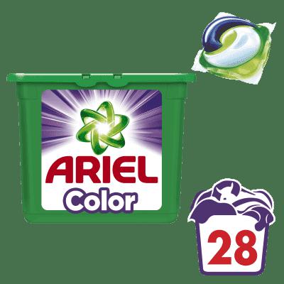 ARIEL Color (28szt.) - żelowe kapsułki do prania