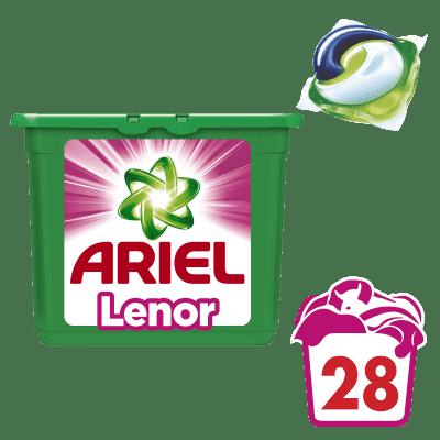 ARIEL Touch of Lenor (28szt.) - żelowe kapsułki do prania