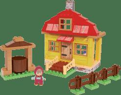 BIG Bloxx Máša a medveď - Mášin dom