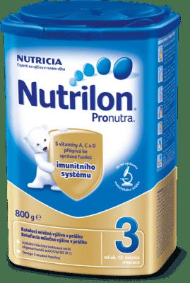 NUTRILON 3 ProNutra (800 g) - dojčenské mlieko