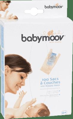 BABYMOOV sáčky na použité plienky 100ks