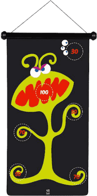 SCRATCH Veľké magnetické šípky Príšerky