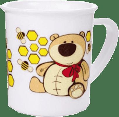 CANPOL Babies Plastový hrníček – medvídek
