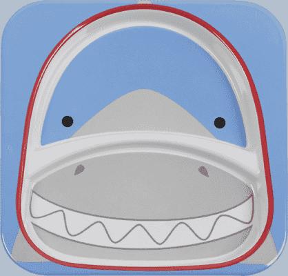 SKIP HOP Zoo Talířek 2v1 - Žralok