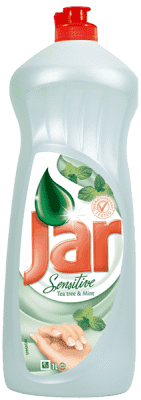 JAR Sensitive Tea Tree & Mind 1l - prostředek na nádobí