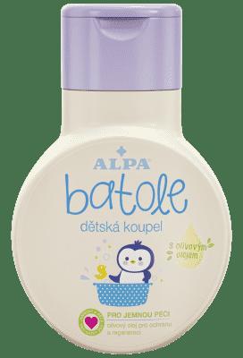 BATOLE Detský kúpeľ s olivovým olejom 200 ml