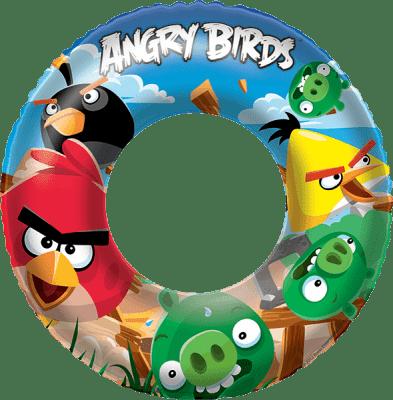 BESTWAY Nafukovací kruh - Angry Birds, průměr 56 cm