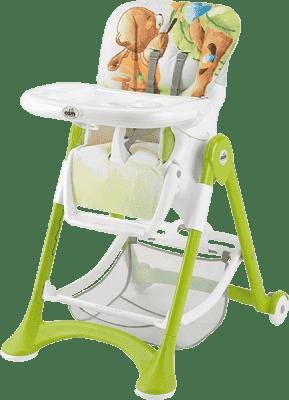 CAM Jídelní židlička Campione - zelená