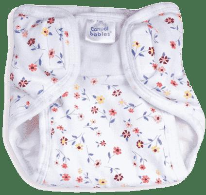 CANPOL Babies Plenkové kalhotky PREMIUM S - Kytičky