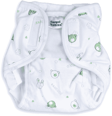 CANPOL Babies Plenkové kalhotky PREMIUM M - Méďa a zajíček