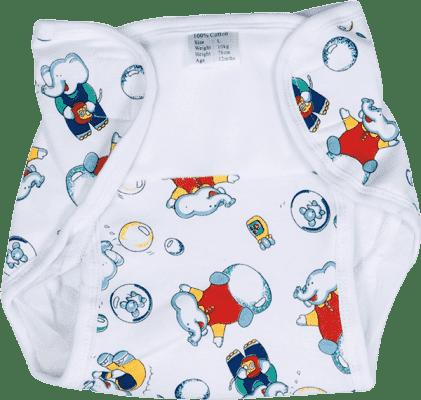 CANPOL Babies Plienkové nohavičky PREMIUM M - Medvedíky a balóniky