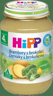 HIPP BIO brambory s brokolicí (190 g) - zeleninový příkrm