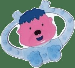 CANPOL Babies Chrastící kousátko zvířátko-holka