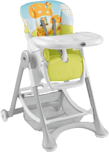 CAM Jedálenská stolička CAMpione - mochomůrka