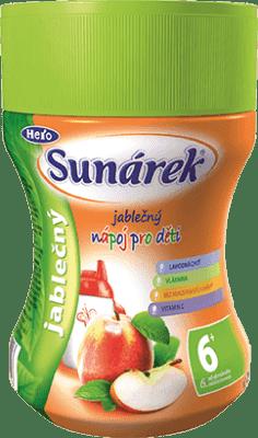 SUNÁREK Jablčný rozpustný nápoj - dóza 200g