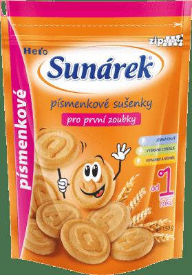 SUNÁREK Detské sušienky písmenkové (150 g)