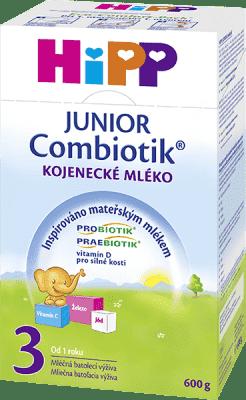 HIPP 3 JUNIOR Combiotik (600g) - mliečna dojčenská výživa