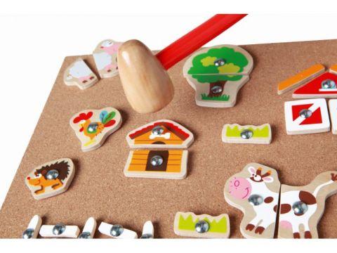 SCRATCH Zatĺkacia hračka Farma