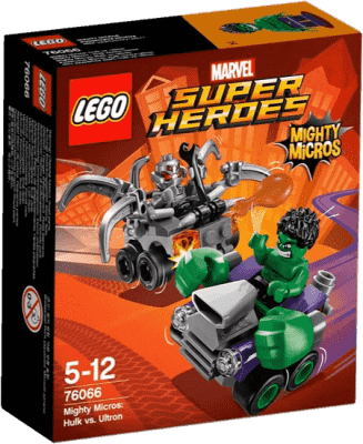 LEGO® Super Heroes Mighty Micros: Hulk vs. Ultron