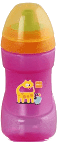 MAM Sports Cup 330ml ružový - náhodný motív