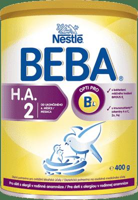 NESTLÉ BEBA HA 2 Protect plus (400 g) - dojčenské mlieko