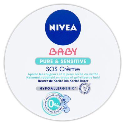 NIVEA Baby Pure&Sensitive SOS krem (150 ml)