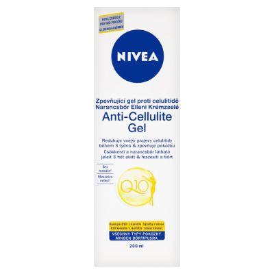 NIVEA Body Zpevňující gél proti celulitíde Q10 (200ml)