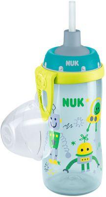 NUK First Choice Láhev PP Flexi Cup 300 ml, flexi pítko (24+ m) - kluk