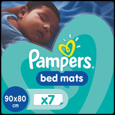 PAMPERS Bedmats 7 ks - detské podložky do postieľky