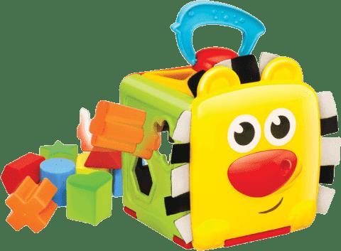 B.KIDS Vkladacia kocka Džungľa